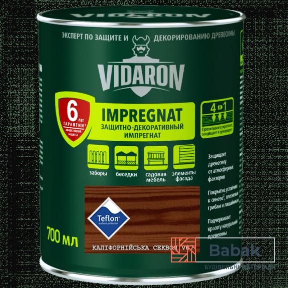Імпрегнат VIDARON каліфорнійська секвоя V07 700мл