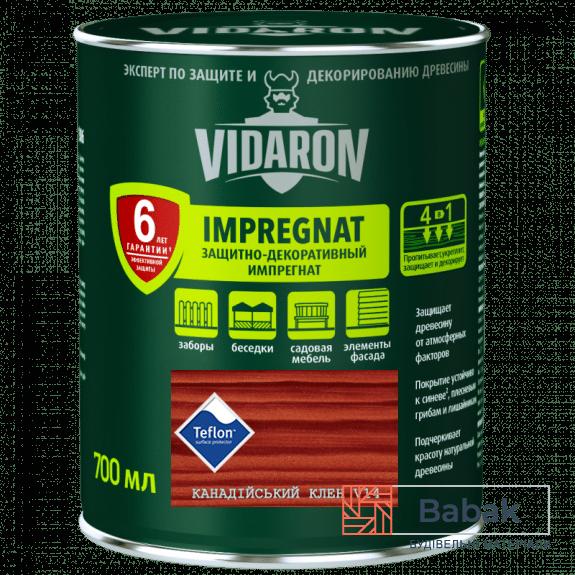 Імпрегнат VIDARON канадський клен V14 700мл