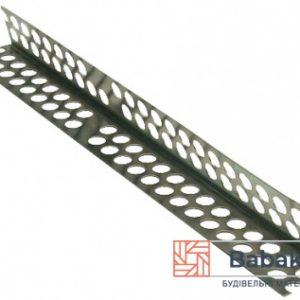 Кутник алюмінієвий перфорований 2500 мм