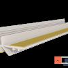 Привіконний профіль 9мм 2,5м Білий