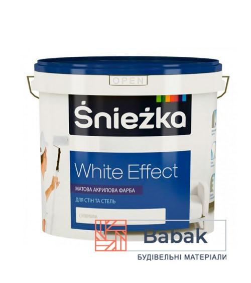 Фарба Sniezka White Effect 15л / 20 кг (супербіла)