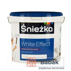 Фарба Sniezka White Effect 3л / 4,2 кг (супербіла)