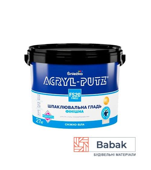 Фінішна шпаклівка ACRYL-PUTZ FS20 27кг PL