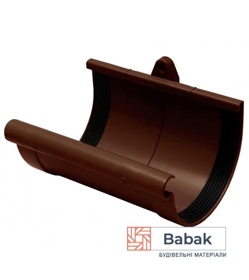 Муфта ринви коричнева RainWay 130мм