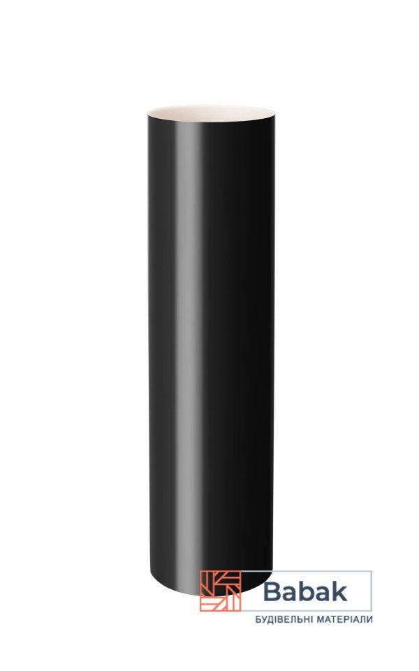 Труба водостічна графіт 3м RainWay 130мм