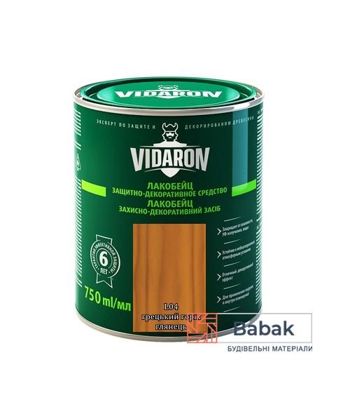 Лакобейц VIDARON грецький горіх L04 750мл