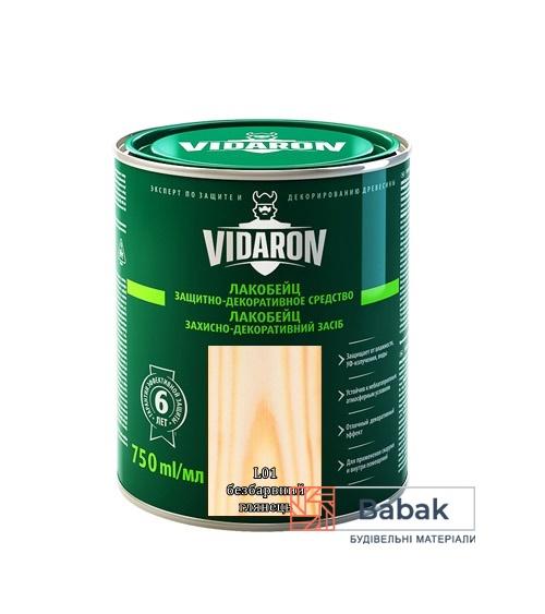 Лакобейц VIDARON безбарвний L01 750мл