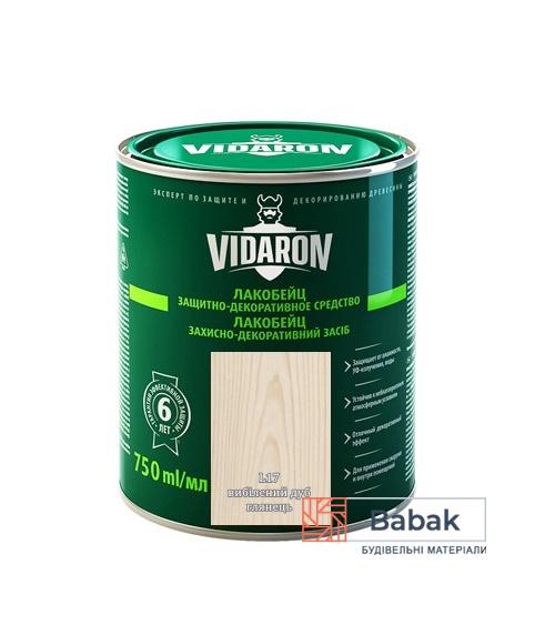 Лакобейц VIDARON вибілений дуб L17 750мл