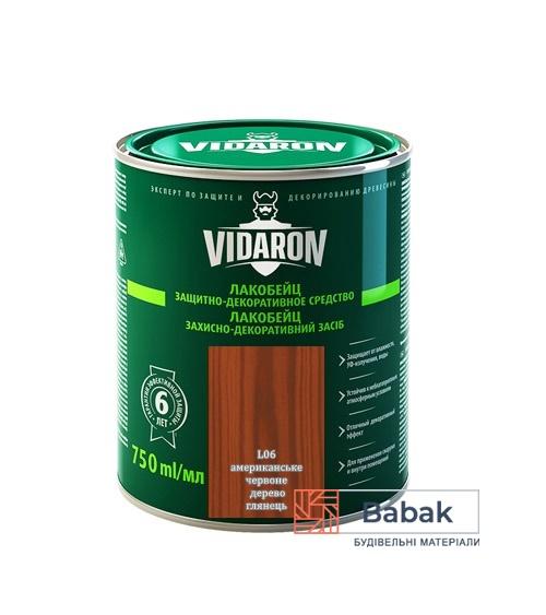 Лакобейц VIDARON американське червоне дерево L06 750мл