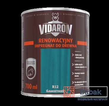 Реноваційний Імпрегнат VIDARON блакитний R12 700мл