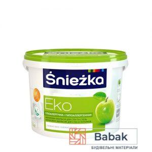 Фарба Sniezka ЕКО сніжно-біла 10л / 14кг