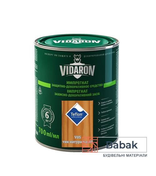 Імпрегнат VIDARON тик натуральний V05 700мл