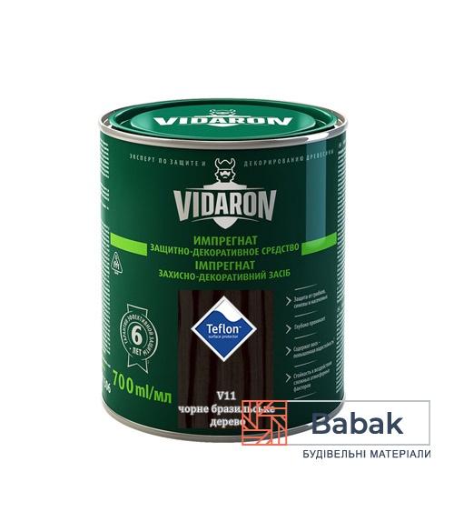 Імпрегнат VIDARON чорне бразильське дерево V11 700мл