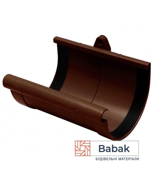 Муфта ринви коричнева RainWay 90мм