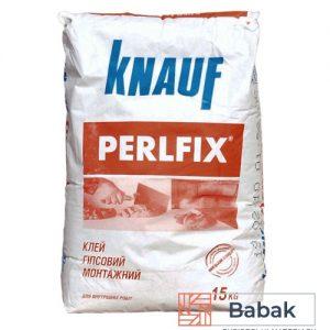 Knauf Perlfix Клей для гіпсокартону 15кг