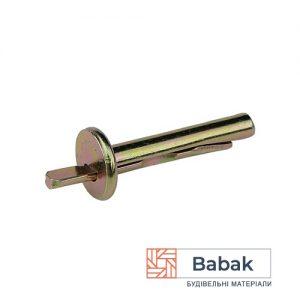 Дюбель металевий Біербах 6×35мм анкерний 100шт