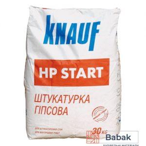 Штукатурка гіпсова Knauf HP Start 30кг стартова