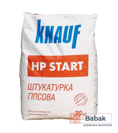 Штукатурка гіпсова Knauf HP Start 30 кг стартова