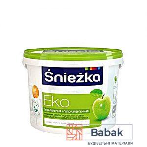 Фарба Sniezka Еко сніжно-білий 5л / 7кг PL