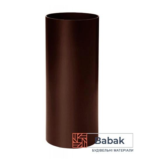 Труба водостічна коричнева 3м RainWay 90мм