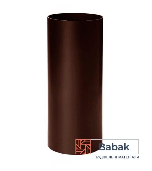 Труба водостічна коричнева 3м RainWay 130мм