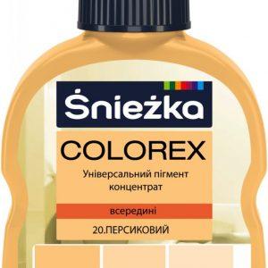COLOREX 20 персиковий 100мл