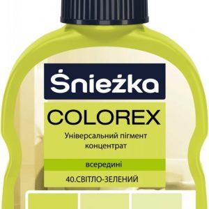 COLOREX 40 світло-зелений 100мл
