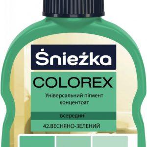 COLOREX 42 весняно-зелений 100мл