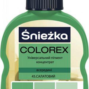 COLOREX 45 салатовий 100мл