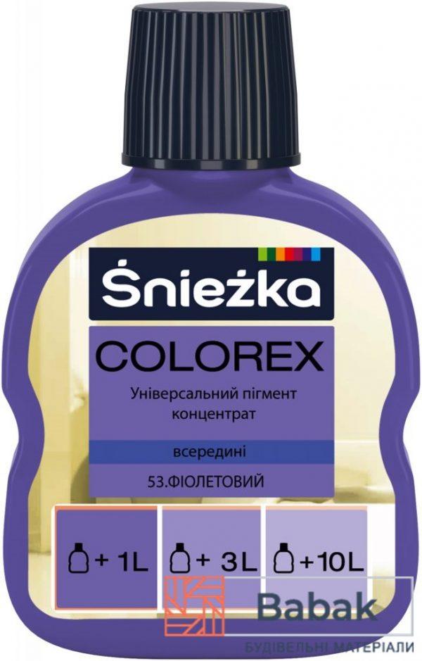 COLOREX 53 фіолетовий 100мл