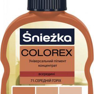 COLOREX 71 середній горіх 100мл