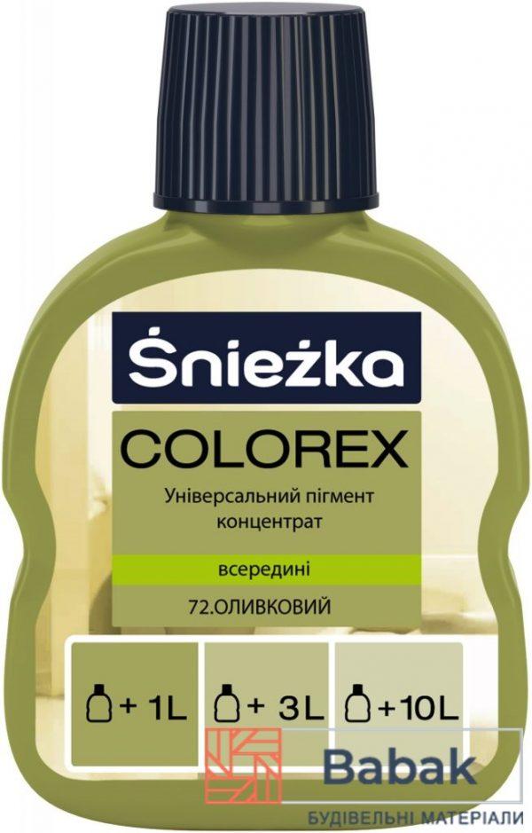 COLOREX 72 оливковий 100мл