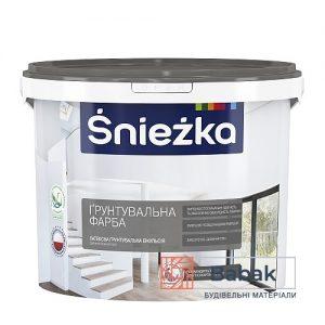 Sniezka ГРУНТУВАЛЬНА ФАРБА білий 10л / 14кг