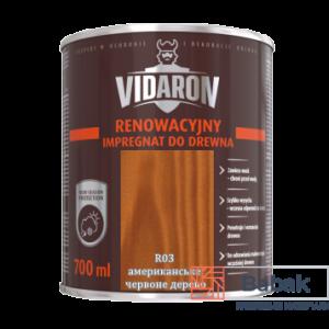 Реноваційний Імпрегнат VIDARON американське червоне дерево R03 700мл