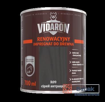 Реноваційний Імпрегнат VIDARON сірий антрацит R09 700мл