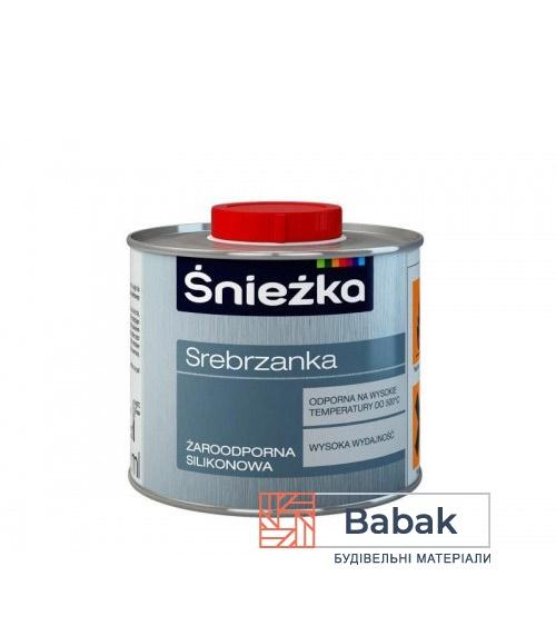 Серебрянка жаростійка срібна Sniezka 500мл