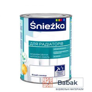 Sniezka для радіаторів білий глянець 0,75 дм3