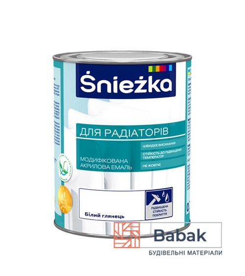 Sniezka для радіаторів білий глянець 0,75 л