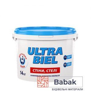 ULTRA BIEL сніжно-білий 10л / 14кг PL