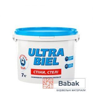 ULTRA BIEL сніжно-білий 5л / 7кг PL