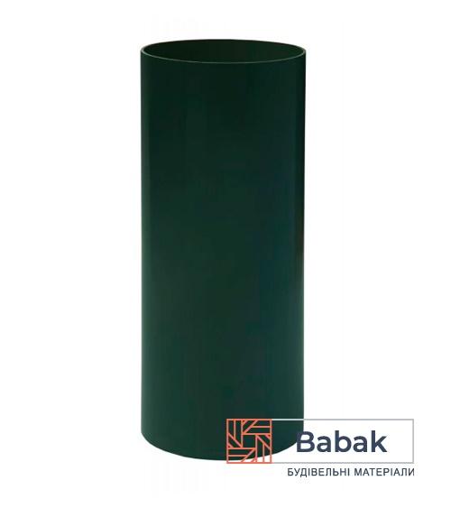 Труба водостічна зелена 3м RainWay 130мм