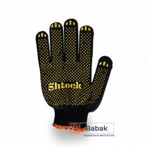 Рукавиці чорні Shtock