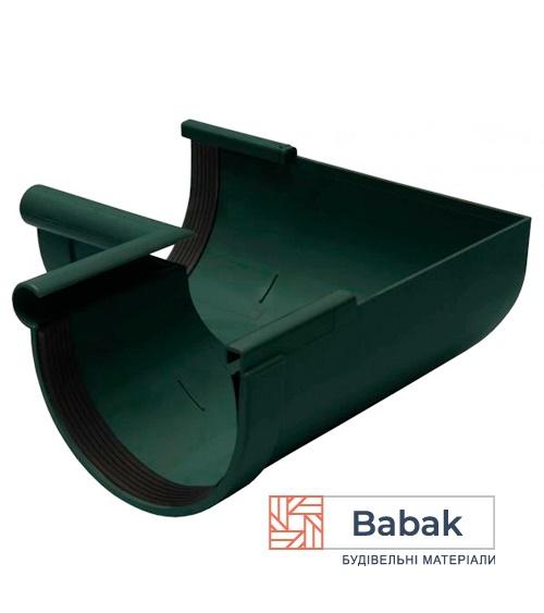 Кут ринви внутрішній 90° зелений RainWay 130мм
