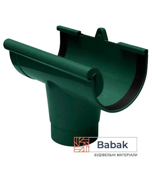 Воронка ринви зелена RainWay 130мм