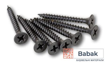 Саморізи по металу 3.5×25мм Strong 1000 шт