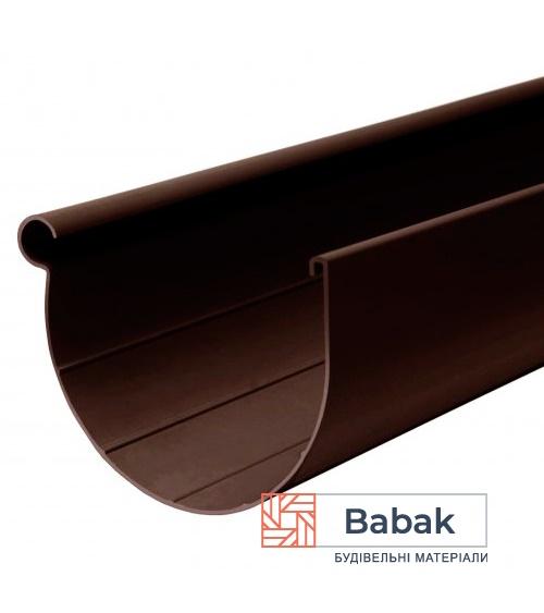 Ринва 3м коричнева RainWay 130мм