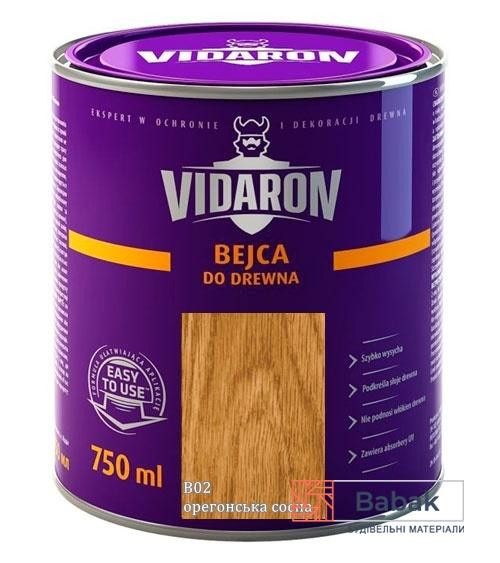 VIDARON Бейц орегонська сосна B02 750мл