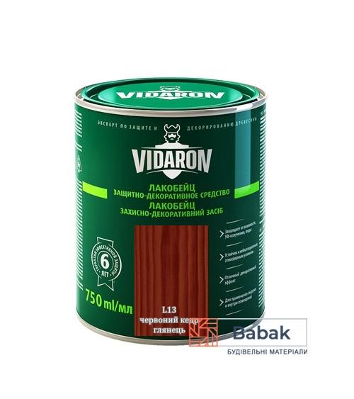 Лакобейц VIDARON червоний кедр L13 750мл