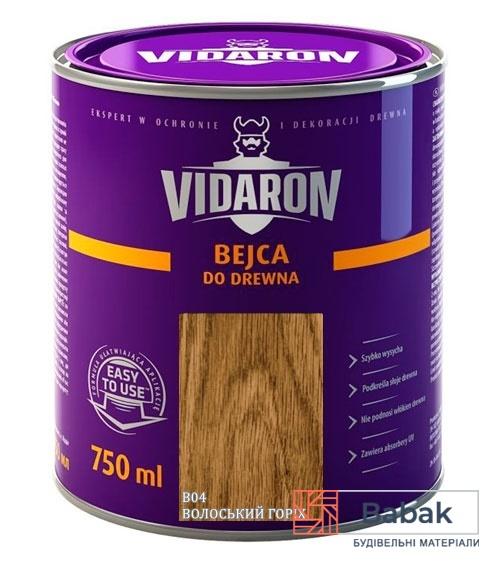 VIDARON Бейц волоський горіх B04 750мл