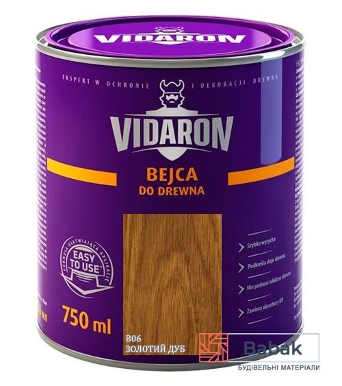 VIDARON Бейц золотий дуб B06 750мл